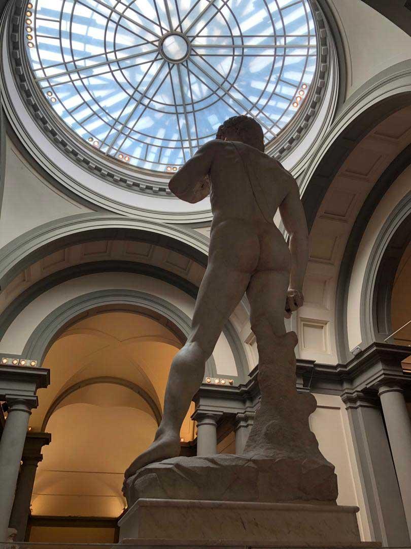 el david, figura